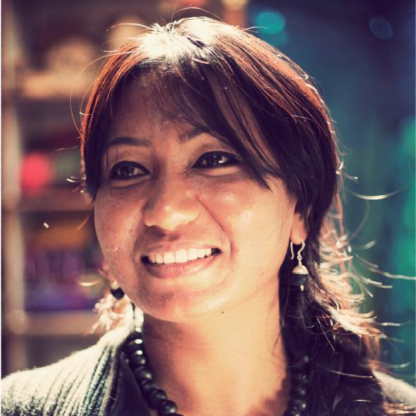 Portrait von Usha